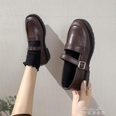 娃娃鞋春季新款韓版百搭小皮鞋女日繫英倫風復古制服單鞋黑色JK學生 雙十二免運