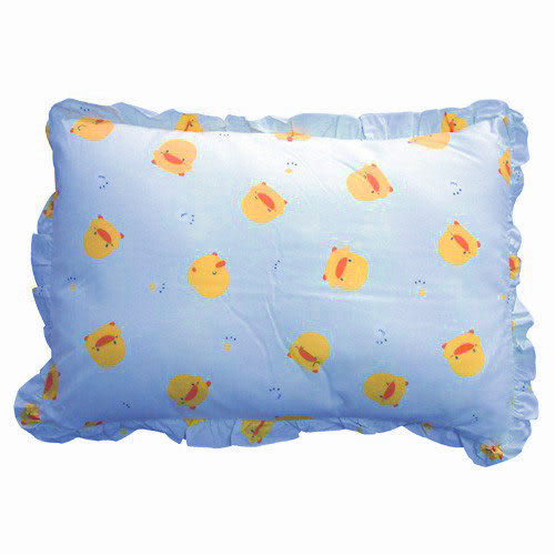 【奇買親子購物網】黃色小鴨抗菌防蟎四季枕(粉色/藍色/黃色)