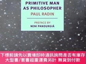 二手書博民逛書店Primitive罕見Man As PhilosopherY255174 Paul Radin Nyrb Cl