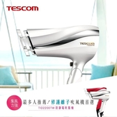 【日本TESCOM】防靜電負離子大風量渦流吹風機 TID2200TW