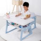 兒童書桌 寫字桌椅套裝寫字臺小孩學習桌學生寫字課桌簡約家用幼兒書桌【快速出貨八折鉅惠】