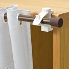 【特惠組】日本 LEC 扣鎖式窗簾桿專用掛勾2包裝4枚組