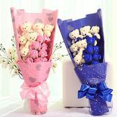 母親節玫瑰香皂花束禮盒生日禮物送男女生朋友情閨蜜diy韓國【免運直出】