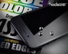【默肯國際】hoda iPhone 7/7 Plus 防碎 軟邊 全 滿版 玻璃 保護貼 邊緣不碎裂 消光黑專用版