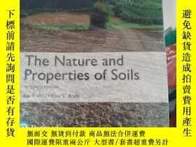 二手書博民逛書店The罕見Nature and Properties of Soils, Global EditionWeil,