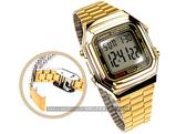 CASIO卡西歐 A178WGA-1A 復刻 金色 方形 電子錶 33mm 男錶 女錶 中性錶 A178WGA-1ADF 復古