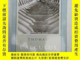 二手書博民逛書店THOMAS罕見CALCULUS INCLUDING SECOND-ORDER DIFFERENTIAL RQUA