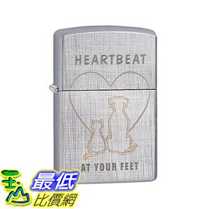 [美國直購] Zippo Heartbeat At Your Linen Weave Pocket Lighter 打火機