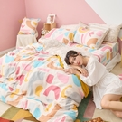 床包被套組 / 雙人加大【波特異想】含兩件枕套 60支天絲 戀家小舖台灣製AAU312