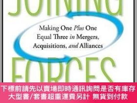 二手書博民逛書店預訂Joining罕見Forces: Making One Plus One Equal Three In Mer