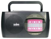 【中彰投電器】SAMPO聲寶(AM/FM)手提式收音機,AK-W906AL【全館刷卡分期+免運費】具有耳機插孔~