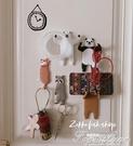 動物掛鉤免打孔粘膠冰箱門口玄關掛鑰匙的粘鉤壁掛墻壁裝飾 3C優購
