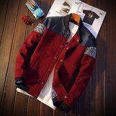 夾克外套男士棒球外套休閒上衣 新主流