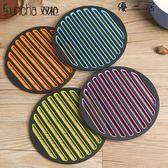 隔熱墊硅膠竹木歐式餐桌墊