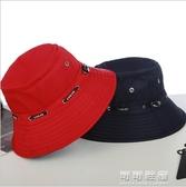 人帽子女士太陽盆帽漁夫帽薄款遮陽帽老人帽女婆婆帽春 交換禮物
