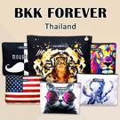 ☆小時候創意屋☆ 泰國百貨櫃品 曼谷包 BKK FOREVER 包 手機包 收納包 BKK包 側背包 斜背包
