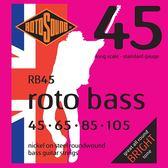 小叮噹的店 英國ROTOSOUND RB45 (45-105) 鎳弦 電貝斯弦 旋弦公司貨