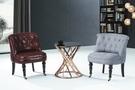 【南洋風傢俱】房間椅洽談椅系列-美式休閒桌椅組 CX688-1 CX608-1 CX608-2