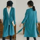 澳洲進口羊毛緹花工藝軟糯毛針織衫開衫毛衣外套/設計家 W20823