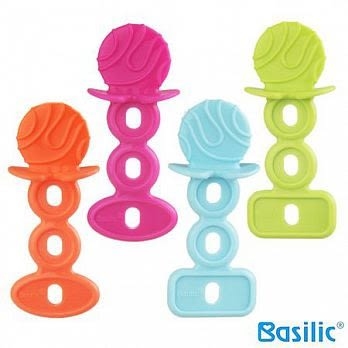 貝喜力克 Basilic 棒棒糖嬰兒固齒器