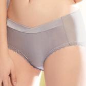【華歌爾】輕柔記形M-LL中腰平口褲(可可棕)(未滿3件恕無法出貨,不可退換貨)
