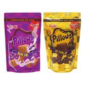 菲律賓Oishi Pillows紅薯/巧克力/起司/榴槤 枕頭造型餅乾(1包入) 款式可選【小三美日】