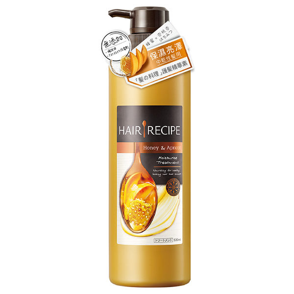 Hair Recipe蜂蜜保濕營養洗髮露/精華素530ml (2款任選)【寶雅】日本