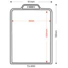 【奇奇文具】STAT TA-6060 8.5x13.2cm (直式)凸型1孔識別證套