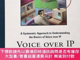 二手書博民逛書店英文原版:Voice罕見over IP Fundamentals--A Systematic Approach t