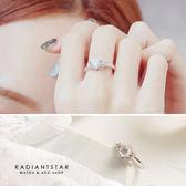 [925純銀]指尖上的秘密璀璨純銀戒指【SL332】璀璨之星☆