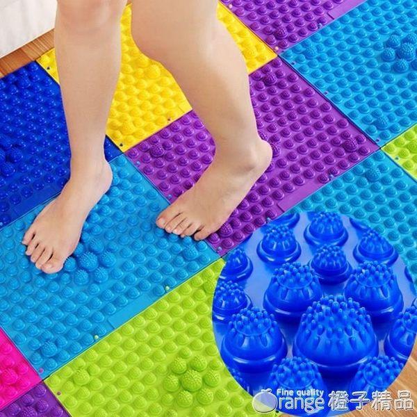 大號指壓板足底按摩墊穴位腳墊家用小冬筍環保加厚硬超痛板趾壓板QM   橙子精品