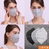 口罩 口罩一次性男女冬防防工業粉灰防塵活性炭透氣防甲醛化工異味 夢露時尚女裝