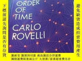 二手書博民逛書店The罕見order of timeY235849 Carlo rovelli Penguin 出版2018