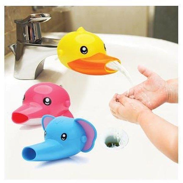 可愛卡通動物造型水龍頭延伸器 導水器 洗手器 輔助器 引水器【SV9502】BO雜貨