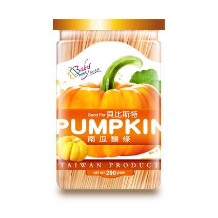 【佳兒園婦幼館】貝比斯特 蔬果寶寶麵條-南瓜口味 200g/瓶