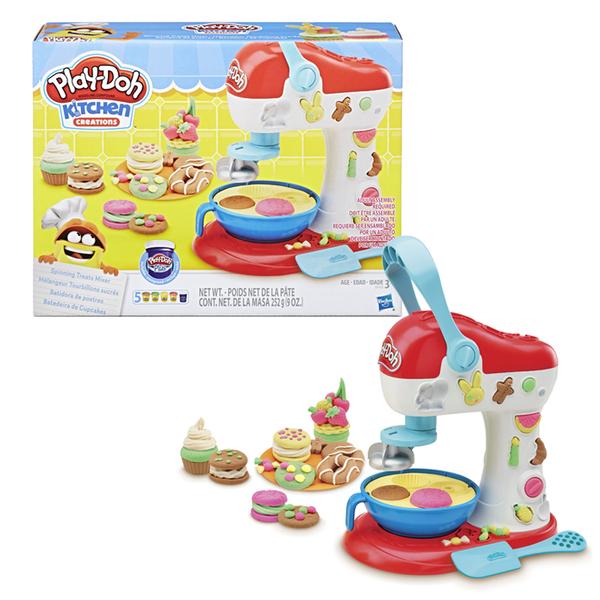 孩之寶 HASBRO 培樂多廚房系列轉轉蛋糕遊戲組