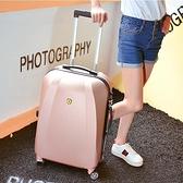 行李箱女旅行箱拉桿箱男萬向輪密碼登機箱20寸韓版皮箱子學生YYJ 阿卡娜