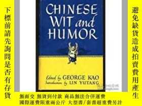 二手書博民逛書店Chinese罕見Wit and Humor(《中國幽默文選》,