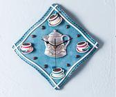 尾牙年貨 掛鐘田園創意客廳時鐘咖啡臥室靜音藝術鐘表