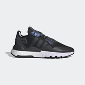 Adidas Nite Jogger W [EF5421] 女鞋 運動 休閒 避震 復古 厚底 穿搭 經典 愛迪達 黑紫
