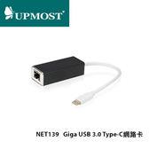 UPMOST 登昌恆 NET139 Giga USB3.0 Type-C 網路卡