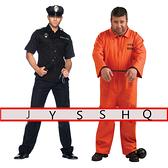 萬圣節舞會演出服 COS囚犯服警察服兒童成人美國監獄囚服表演服裝 薇薇