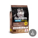寵物家族-紐頓Nutram-T22無穀貓火雞2KG