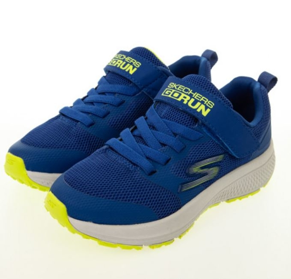 SKECHERS GORUN CONSISTENT 藍色運動童鞋 405016LBLLM
