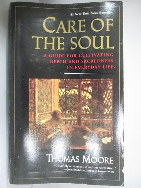 【書寶二手書T1/原文小說_JIX】Care of the Soul-A Guide to Cultivating Depth..._Moore