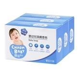 【奇買親子購物網】雪芙蘭親貝比 嬰幼兒潔膚香皂3入