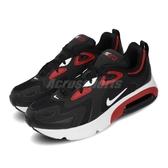 Nike 慢跑鞋 Air Max 200 GS 黑 紅 女鞋 大童鞋 運動鞋 氣墊 【PUMP306】 AT5627-007
