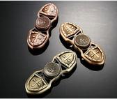 【現貨】十字軍陀螺 指尖陀螺 手工打造 陶瓷軸承材質 指尖旋轉 紓壓神器【H00611】