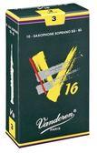凱傑樂器 Vandoren V16 Alto Reeds SAX 深綠盒 中音竹片 3號半