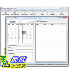 [106美國暢銷兒童軟體] Church Management Software Professional System; Church Facilities, Office, Bookkeeping